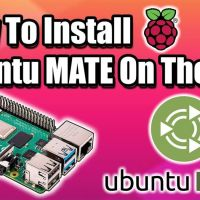 Install Ubuntu MATE On The Raspberry Pi 4! Amazing Performance!