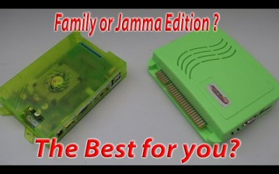 Family or Jamma Pandora's Box .. What to get for your arcade1up ?