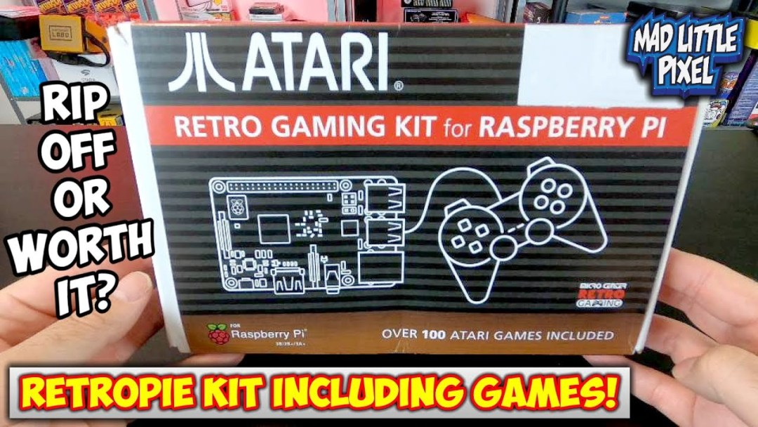 inc Freebie! AtariPie A slice of retro gaming history Classic Atari 2600 RetroPie Cart Why play one game when you can play them ALL!