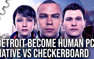 Detroit Become Human PC – Native 4K vs Checkerboard Rendering on PS4 Pro – Image Quality Analysis
