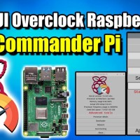 Easy GUI CPU & GPU Overclock For the Raspberry Pi 4 - How To Install Commander Pi
