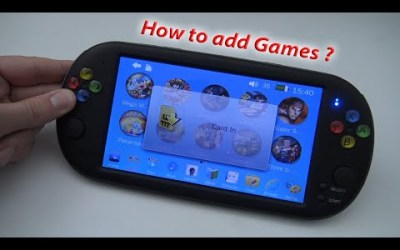 How to add games ? / X16 – 7inch Handheld