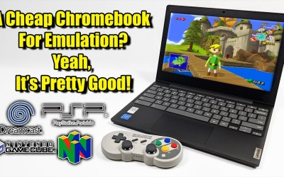 A Cheap Chromebook For Emulation? Yeah, It's Pretty Good!