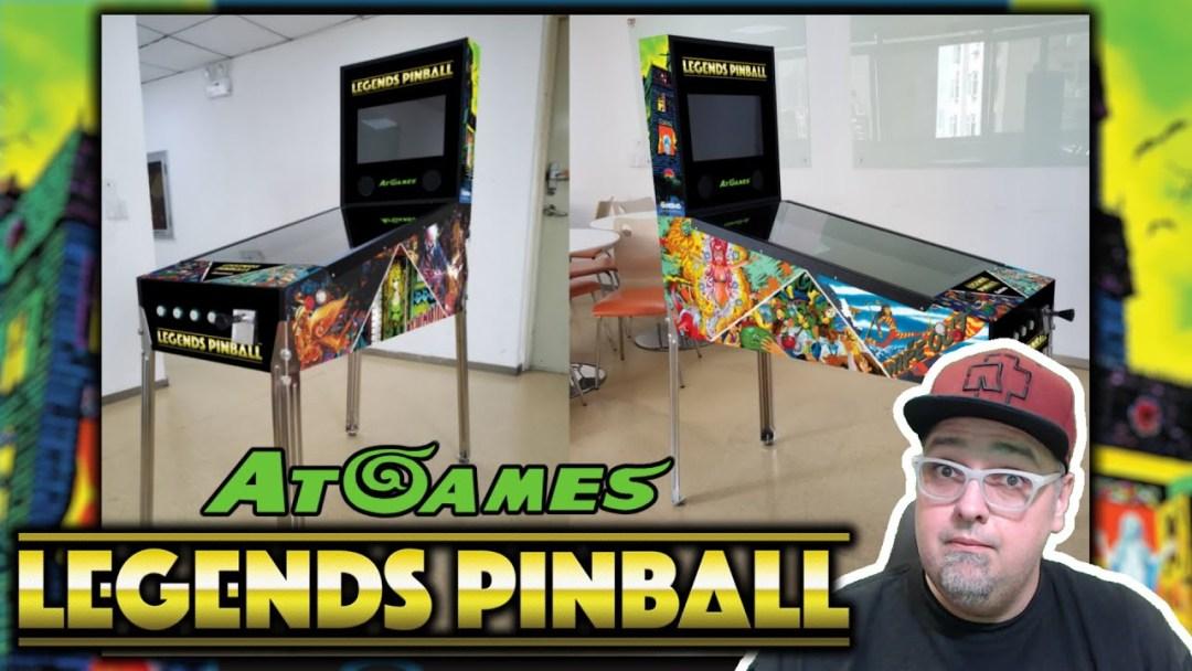 AtGames Legends PINBALL! Features, Games List, Comparisons & More Info!