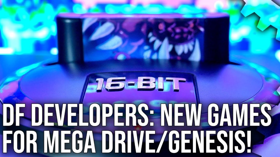 DF Developers: Brand New Mega Drive/Genesis Games With Bitmap Bureau and Big Evil Corp [Sponsored]