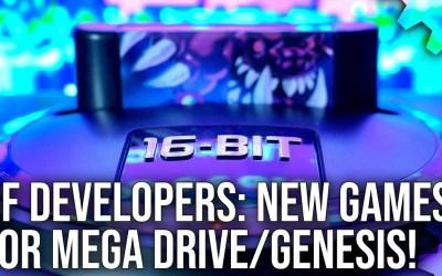 DF Developers: Brand New Mega Drive/Genesis Games With Bitmap Bureau and Big Evil Corp [Sponsored]