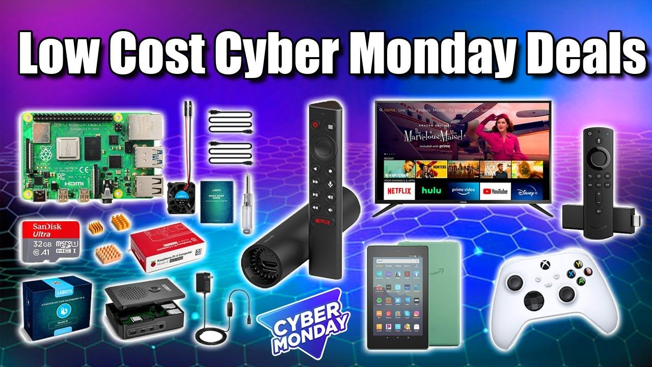 Cyber Monday Low Cost Deals My Top Picks