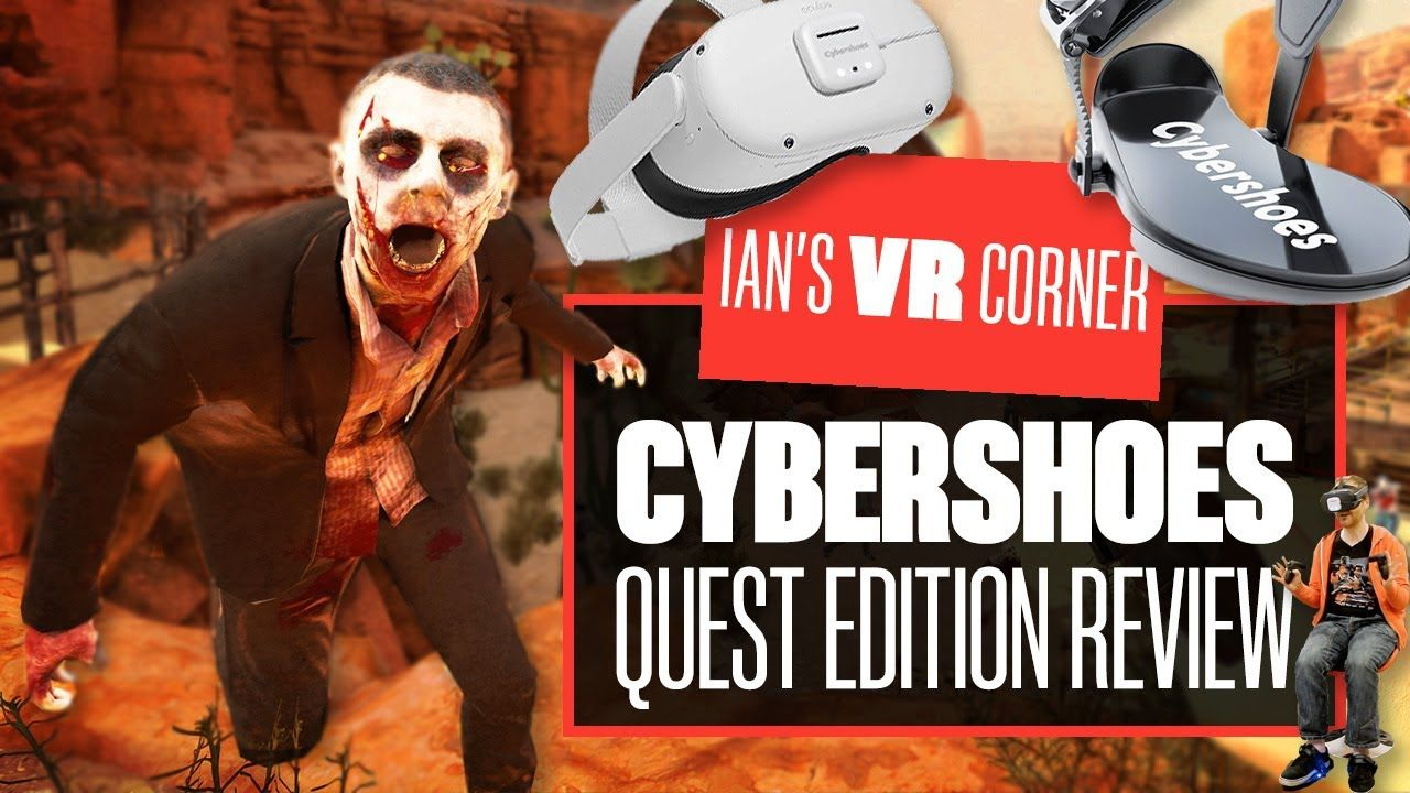 Cybershoes for Oculus Quest Prototype Review – Ian's VR Corner