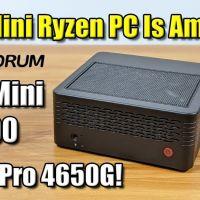 This Ryzen 5 4650G Mini PC Is Amazing - MINISFORUM EliteMini BOX X400