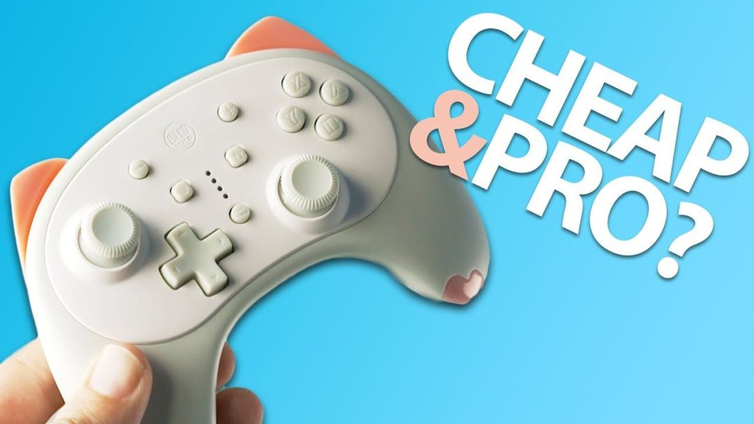 """""""The Best"""" Cheap Nintendo Switch Pro Controllers"""