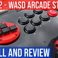 Omni Arcade Odin V2: Install and Review (WASD Fightstick Modding)