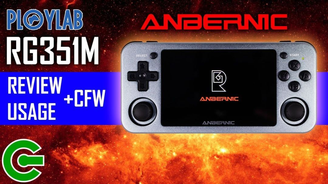 THE PLOYLAB'S ANBERNIC RG351M REVIEW AND USAGE + INSTALLING 351ELEC CFW