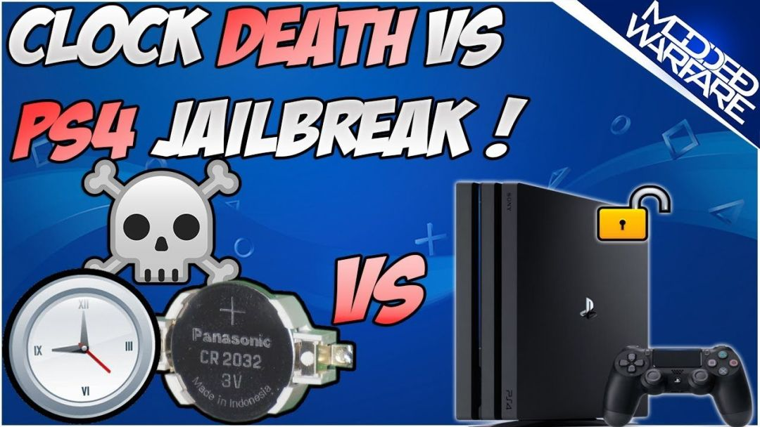 Clock Death vs PS4 Jailbreak