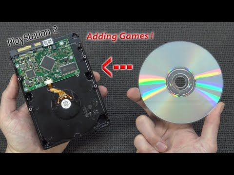 How To Add Games to an Internal Playstation 2 Harddisk ?