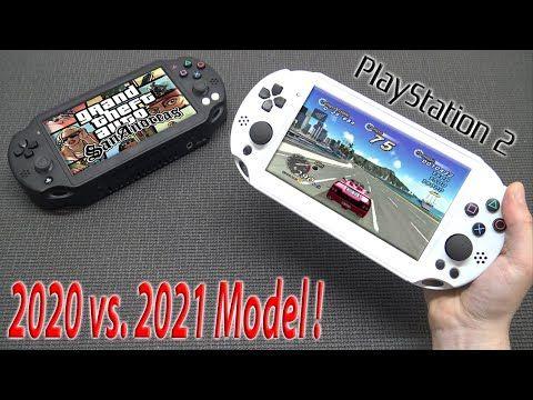 PS2 Portable Comparison Old 2020 vs. New 2021 Model
