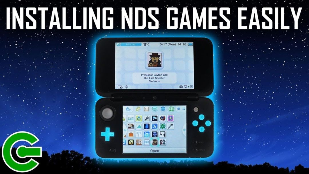 THE EASIEST WAY TO INSTALL NDS GAMES TO YOUR 3DS ~ USING THE NDS FORWARDER GENERATOR.