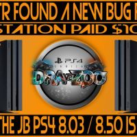 Znullptr found a new bug for PS4 | Maybe the Jailbreak PS4 8.03/8.50 is coming | Information