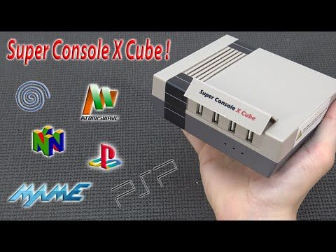 Super Console X Cube … Only it's Not a Cube 🤨