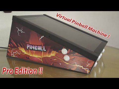 Sharpin 2.0 Pro Edition Bartop Virtual Pinball 😎