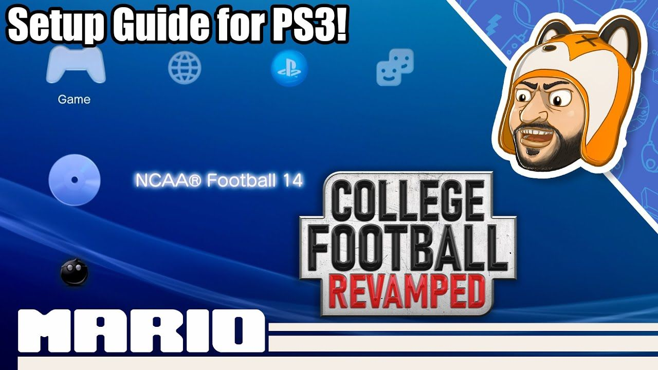 How to Install College Football Revamped for PS3 – CFB Revamped Setup Guide