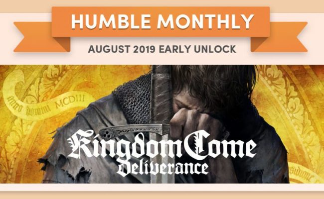 Kingdom Come Deliverance As Humble Monthly Early Unlock
