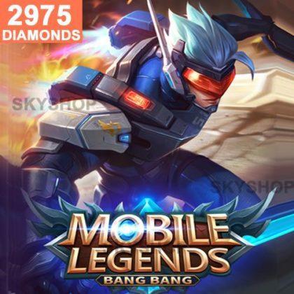 Mobile Legends 2975 Diamonds (Direct Top Up)
