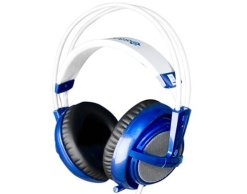 SteelSeries Siberia V2 Full Size Headset with Microphone Blue