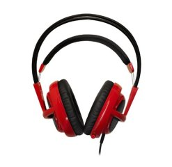 SteelSeries Siberia V2 Full Size Headset with Microphone Red