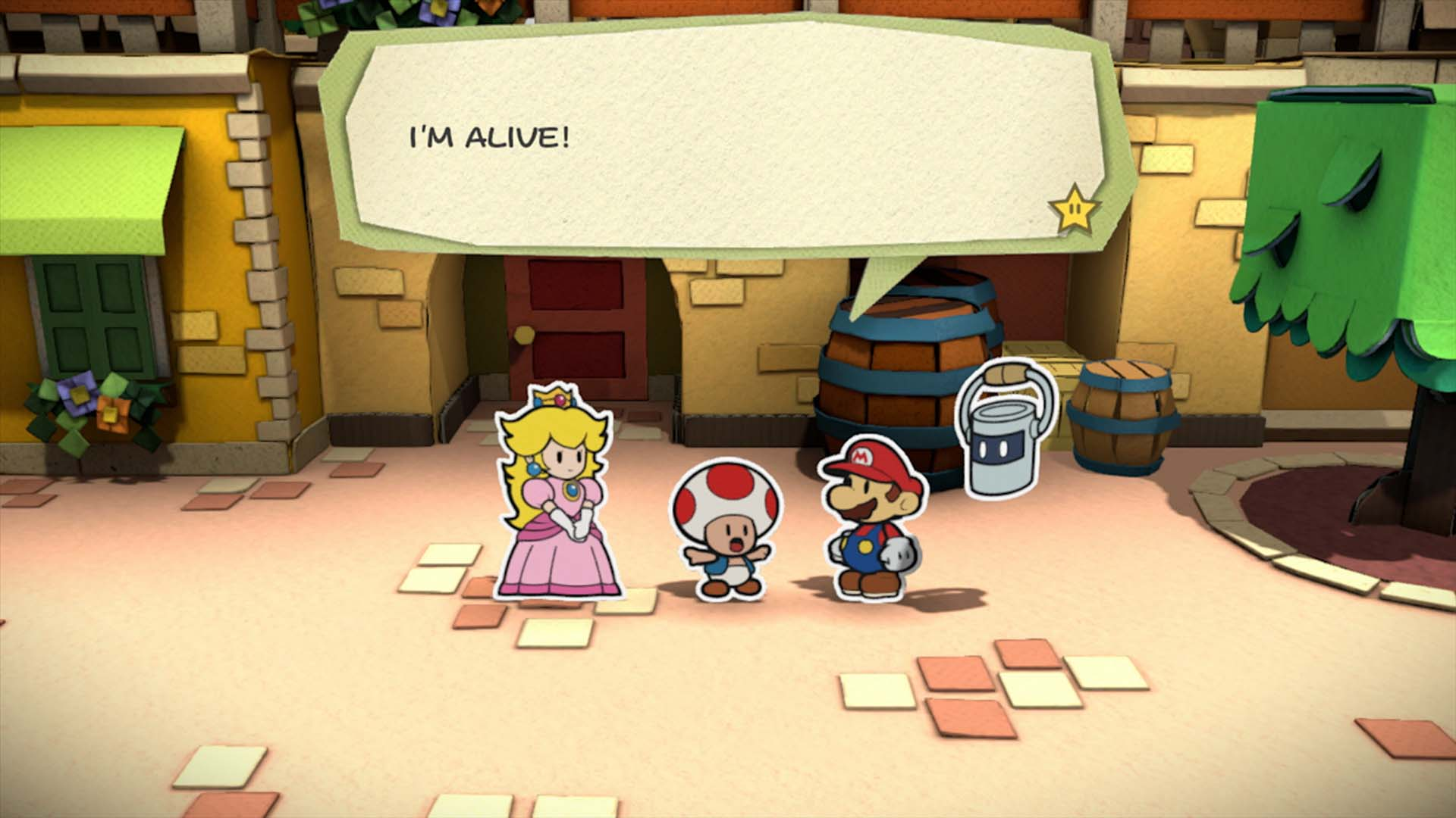 Paper Mario Color Splash Review Drawn Out But Still Clever
