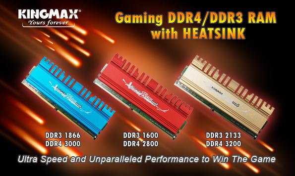 KINGMAX ZEUS DDR4