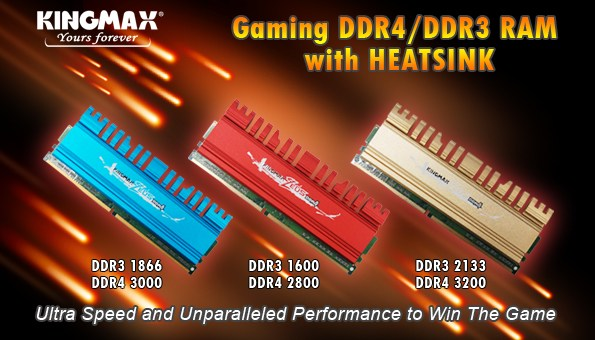 KINGMAX ZEUS DDR4