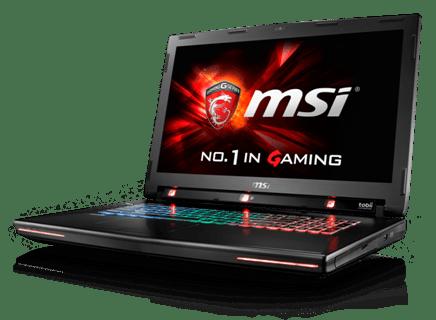 MSI GT72S Tobii