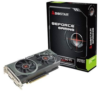 biostar GTX 750ti oc
