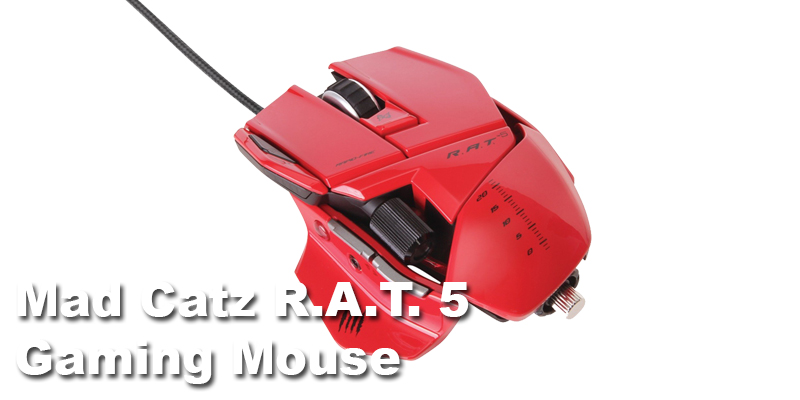 Mad Catz RAT 5 Gaming Mouse