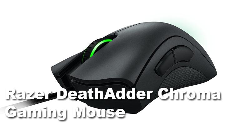 razer deathadder chroma gaming mouse