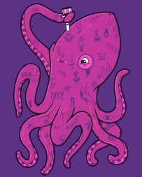 cool-funny-graphic-design-chicquero-inked-octopus