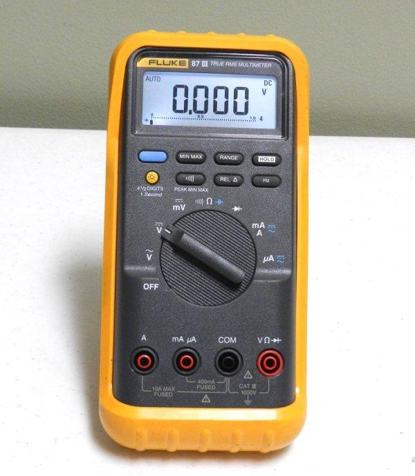 Fluke 87 Iii True Rms Multimeter
