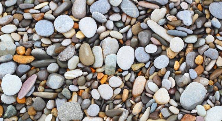 rocks and pebbles