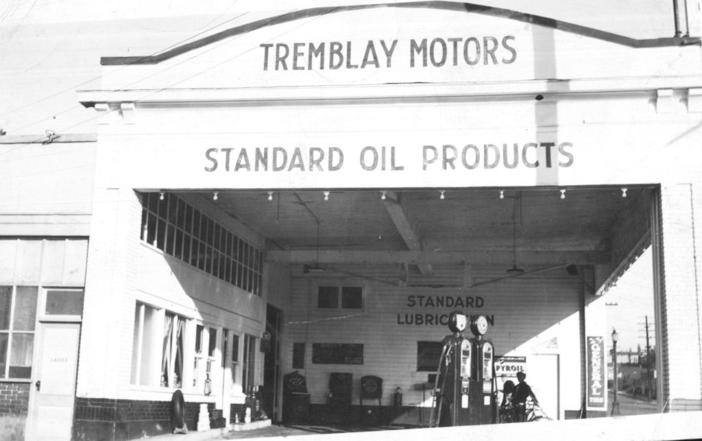 Tremblay Motors 1934