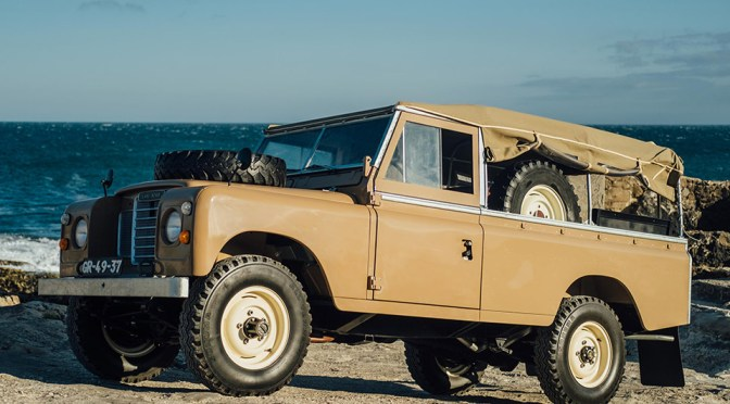 Land Rover Series III de 1979, By Coolnvintage