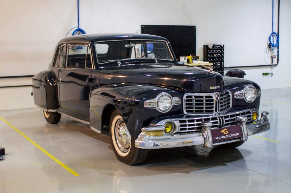 1947 Lincoln Flathead Club Coupe V12