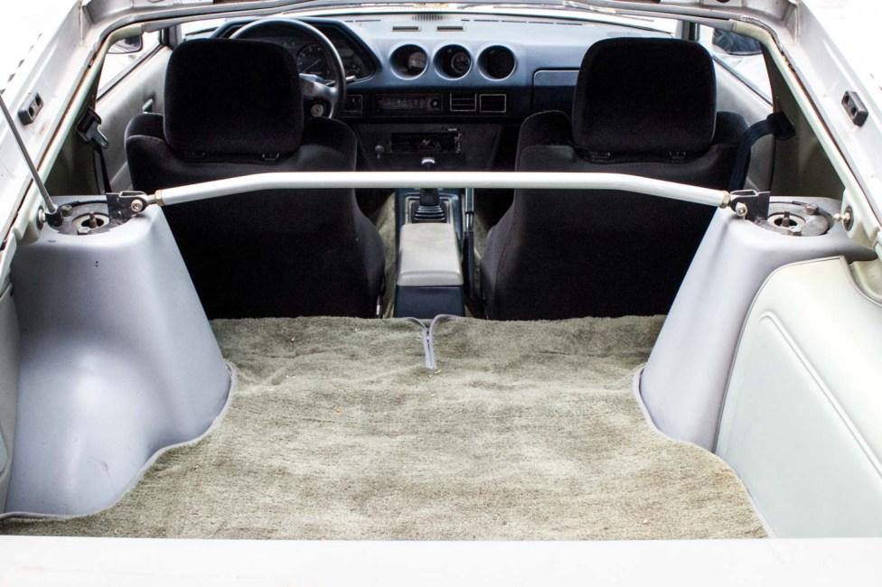 1980 Nissan Datsun 280ZX interior