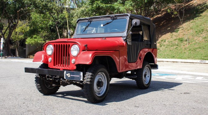 1957 Jeep Willys CJ5 a venda