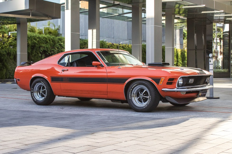 1970 Ford Mustang Fastback Mach1