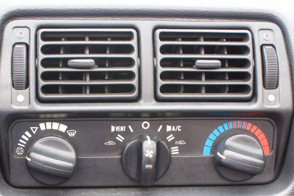 Botão do ar condicionado