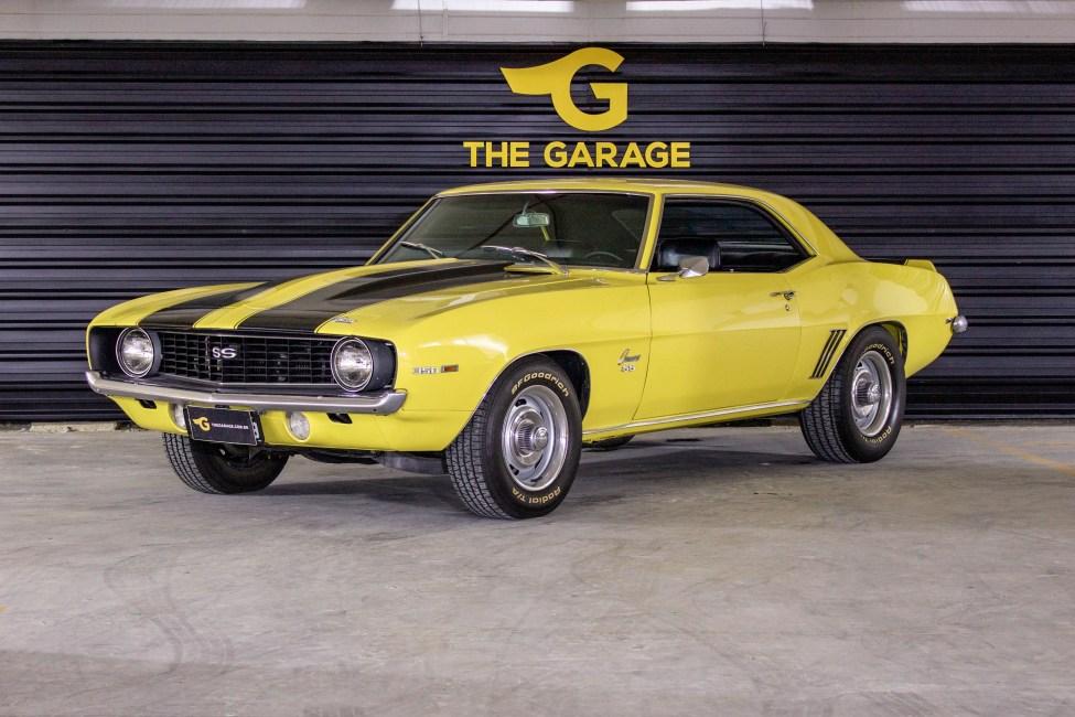 1969 Chevrolet Camaro SS a venda na the garage loja de carros antigos