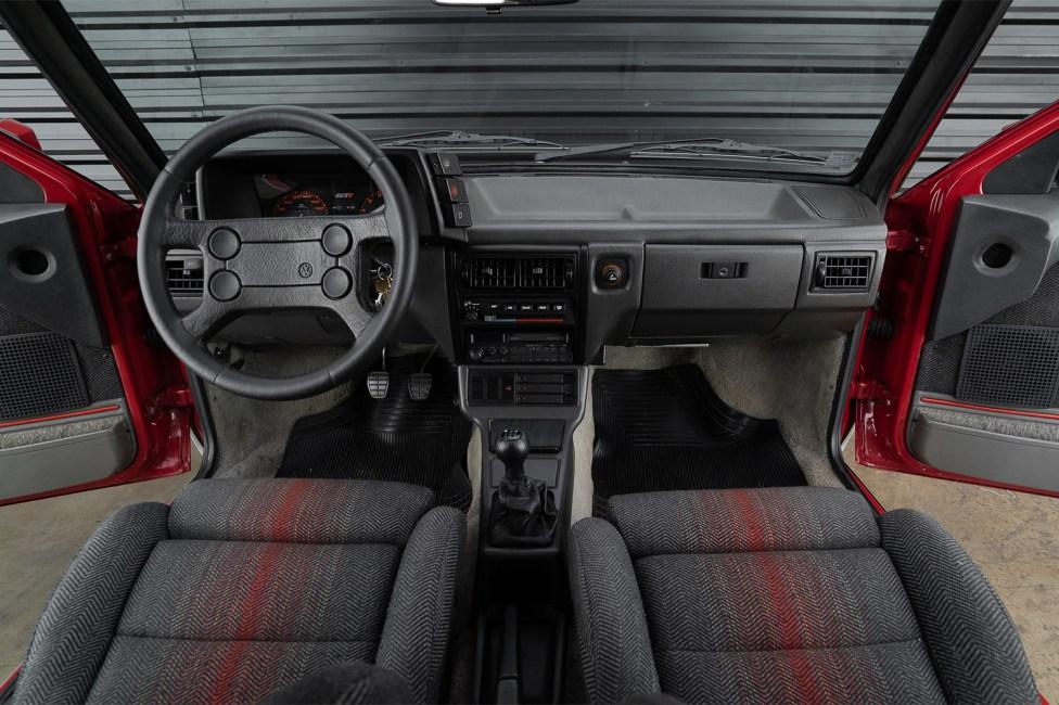 Interior Gol GTi