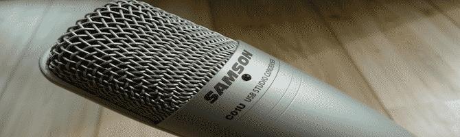 Samson C01U Garageband