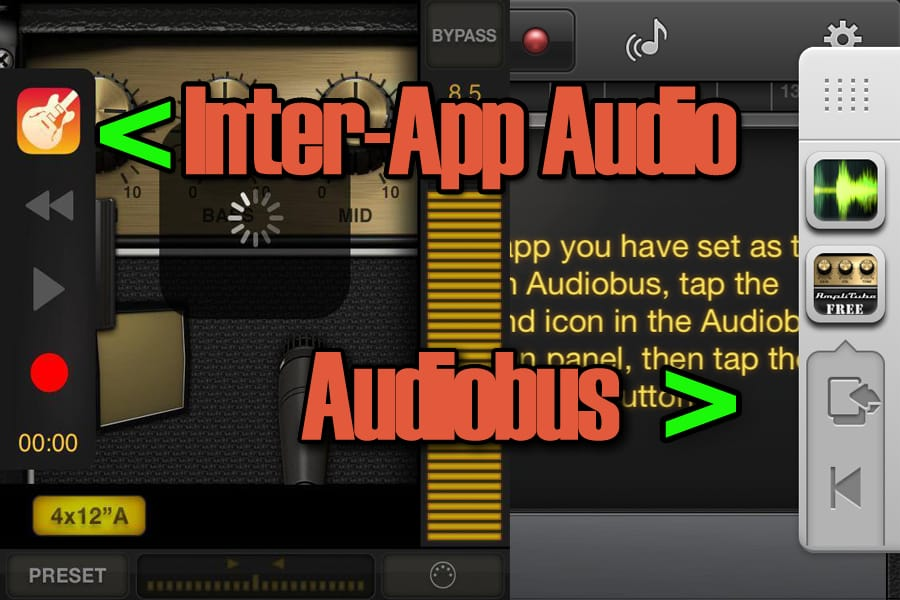 Garageband Inter App Audio