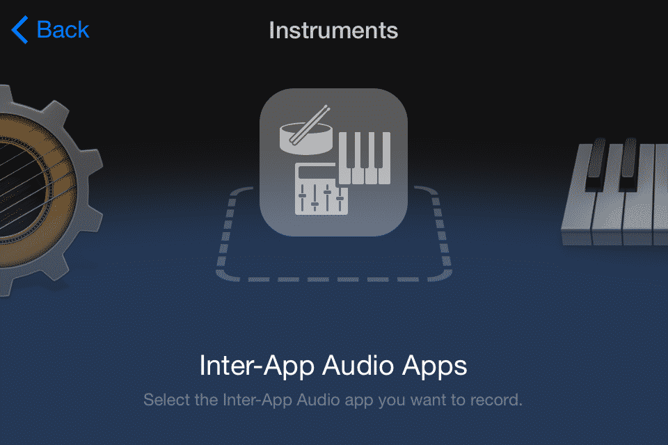 Inter App Audio Apps #1
